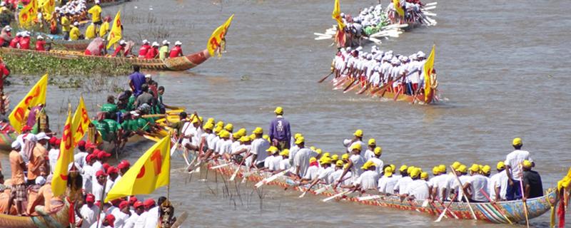 Фестиваль гонок на лодках - Boat Racing Festival