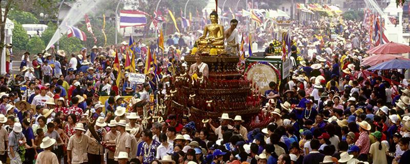 Лаосский Новый год - Boun Phi Mai