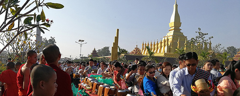 Тат Луанг Фестиваль - Boun Tat Luang