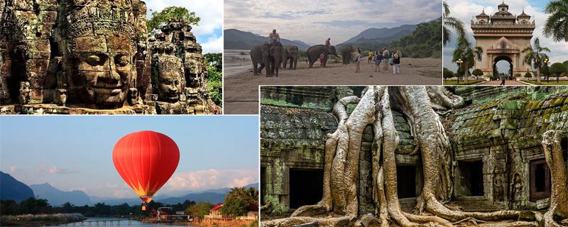 Путешествие Лаос - Камбоджа