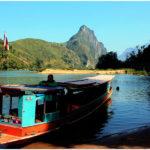 Пассажирская лодка на Меконге