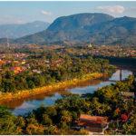 Луанг Прабанг. Вид с холма Пху Си