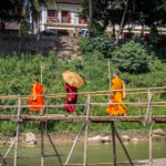 Луанг Прабанг. Мост через реку Нам Кхан