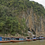 Пассажирские лодки на Меконге