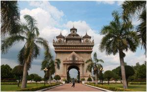 Триумфальная арка Патусай, Вьентьян