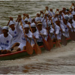 Фестиваль лодок. Вьентьян.