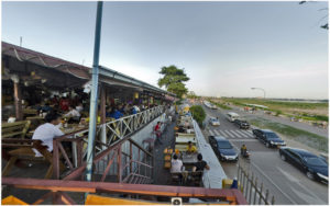 Ресторан Pakpasack, Вьентьян