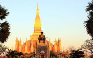 Золотая ступа Тат Луанг, Вьентьян
