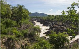Водопад Ли Пхи, остров Дон Кхон, 4000 островов