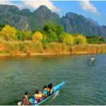 Речная прогулка по реке Нам Сон, Ванг Вьенг