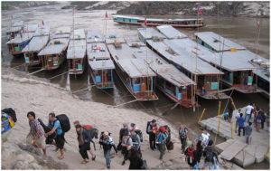 Лодка в Луанг Прабанг