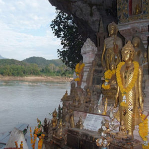 Луангпрабанг: круиз по Меконгу, пещеры Пак У и купание на слонах