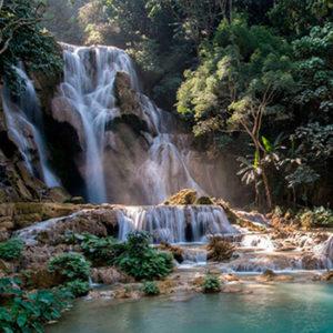 Луангпрабанг и водопады Куанг-Си