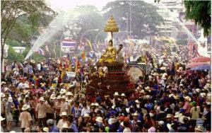 Лаосский Новый год в Луанг Прабанге