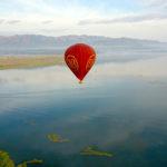 Шары над озером Инле