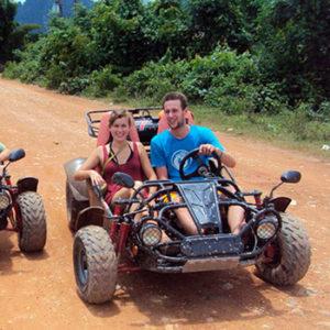 Ванг Вьенг: тур на багги, Голубые Лагуны, пещеры и речная прогулка
